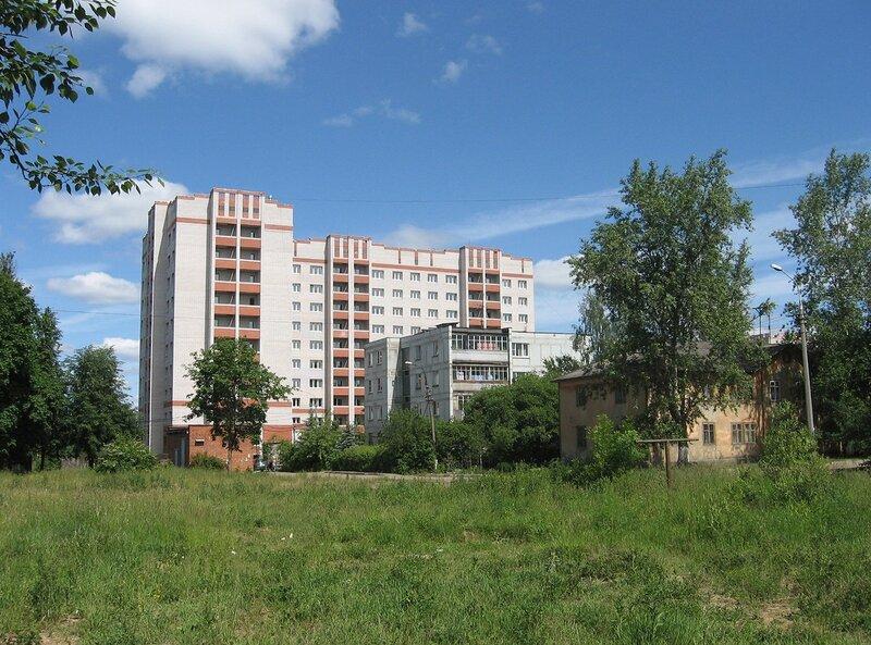Фрязино, улица Нахимова, дома 20, 20а, и Горького,13, корп.1