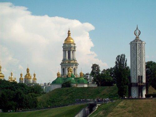 Киев. Парк Славы