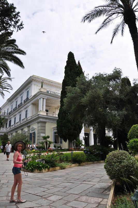 Корфу, Дворец Ахиллио