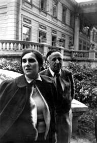 А.Г. Коонен и А.Я. Таиров, 1949