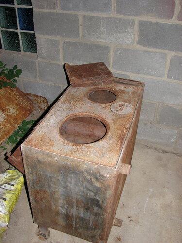Плита для дачи на дровах своими руками 11