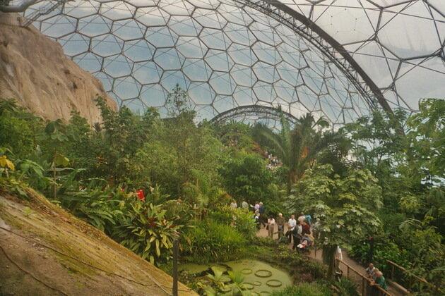 Проект Эдем – оранжерея в Корнуолле