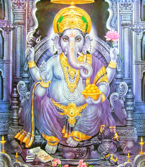 Ганеш - бог мудрости