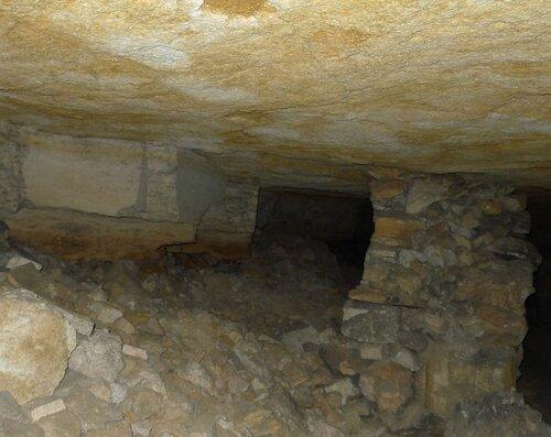Нерубайские катакомбы-шахты