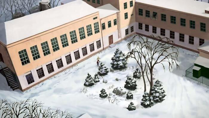 Владивосток,школа из мультфильма