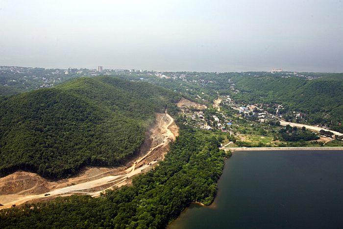 Стройки саммита АТЭС с высоты птичьего полета (ФОТО)