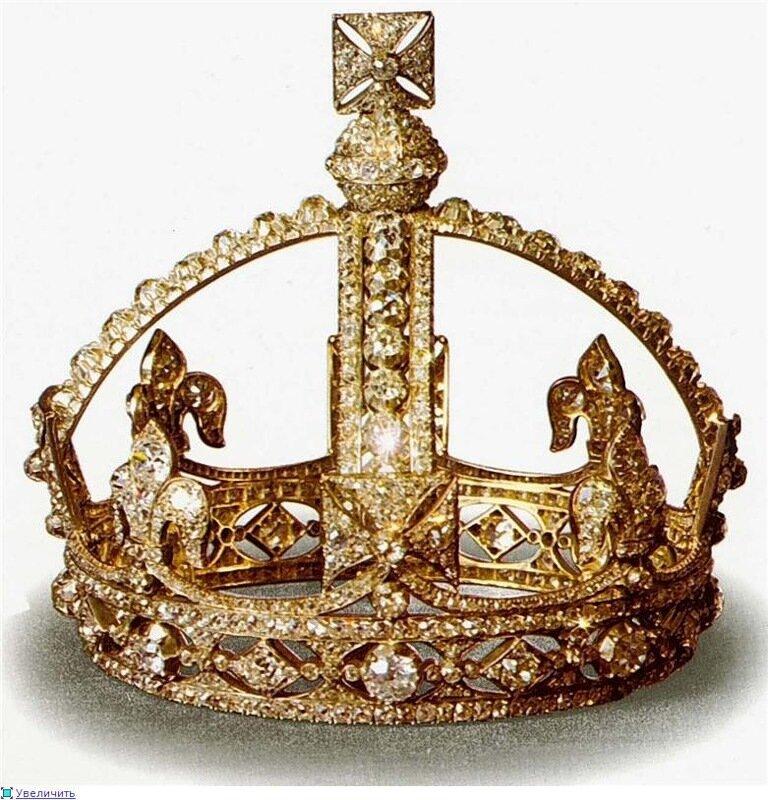 Малая Бриллиантовая корона королевы Виктории