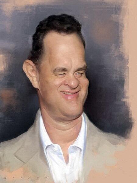 Карикатуры Джейсон Сэйлер (Jason Seiler)Том Хэнкс (Tom Hanks)