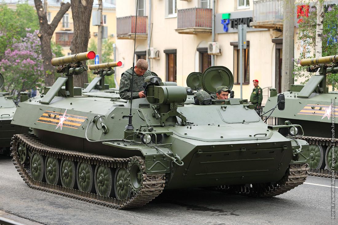 Самоходная версия противотанкового ракетного комплекса Штурм