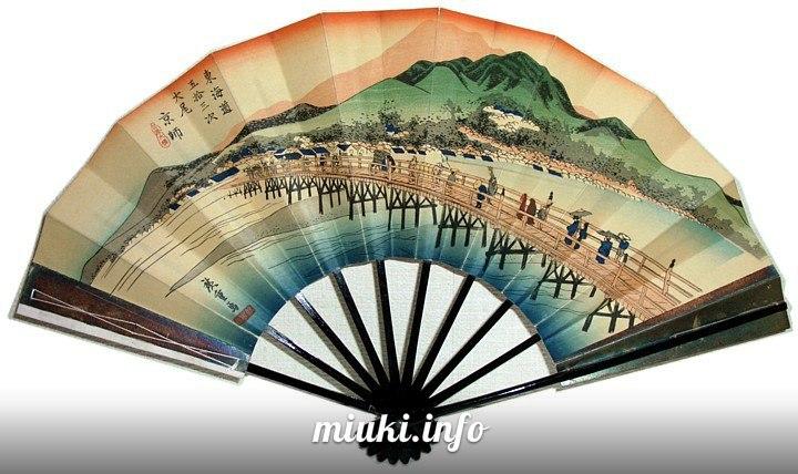 Создание японского веера