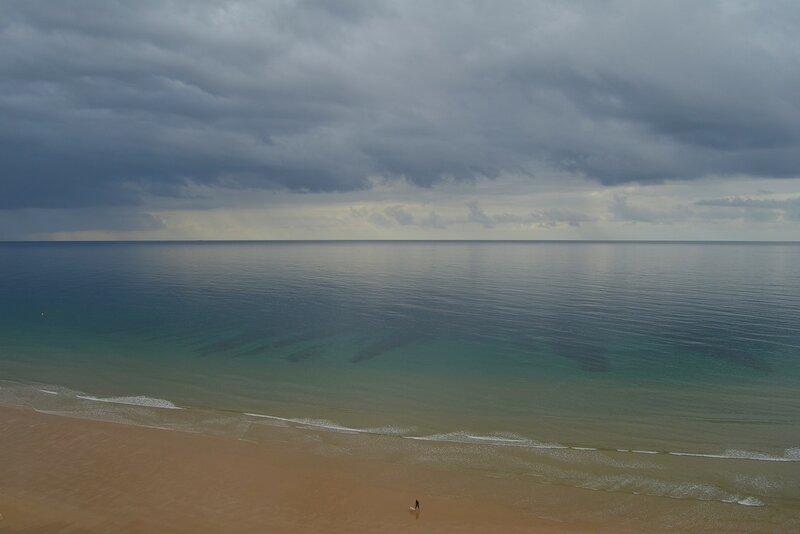 В прозрачности моря