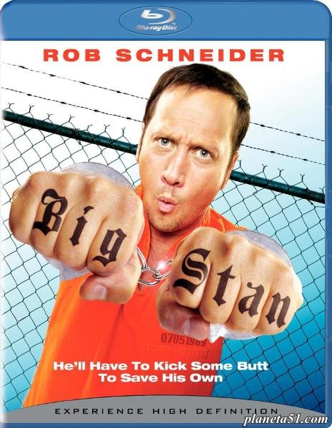 Большой Стэн / Big Stan (2007/BDRip/HDRip) + AVC