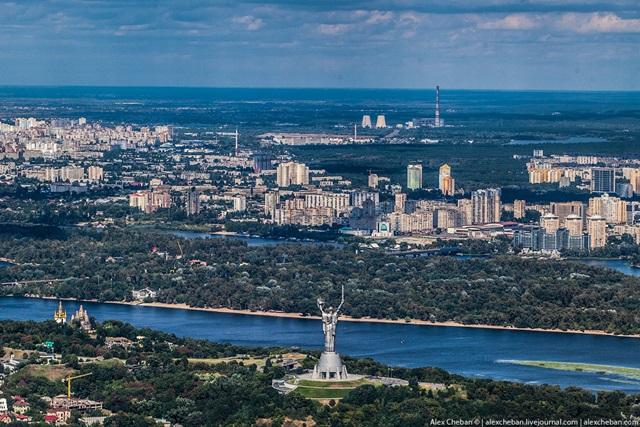 Красивые фотографии Киева с высоты птичьего полета 0 12d0ef ca4938ad orig