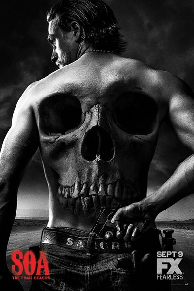 ���� ������� / Sons of Anarchy - ����� 7, ����� 1-8 [2014, HDTVRip | HDTV 720p] (LostFilm | Amedia)