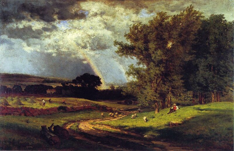 Inness George. A Passing Shower