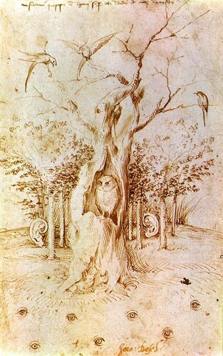Hieronymus Bosch - The Woods that Hears and Sees