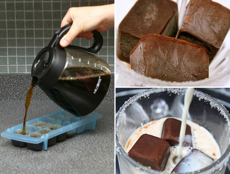 Источник: AdMe.ru 1. Кофейный лед для любителей кофе. Идеально в жару.