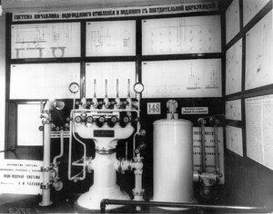 Приборы центрального отопления, экспонированные Московской технической конторой В.Залесского и В.Чаплина.