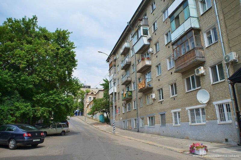 Дорога на горпарк, Саратов, 01 августа 2015 года