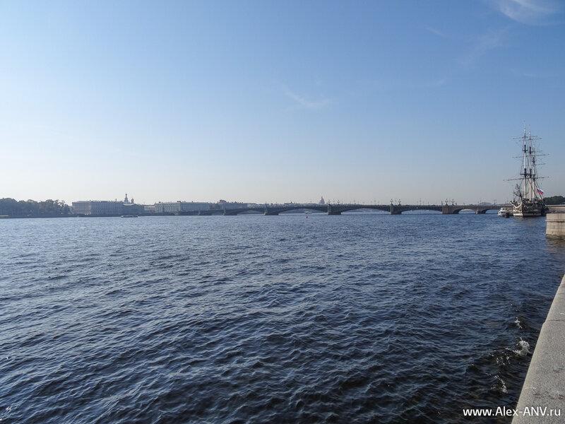 Троицкий мост через Неву