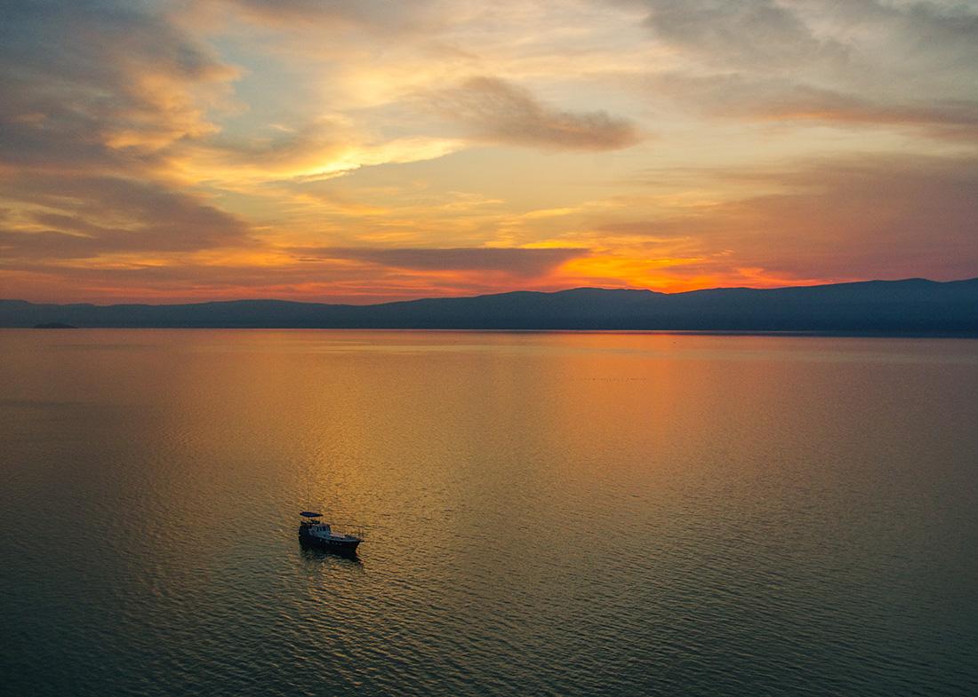 Закаты Байкала