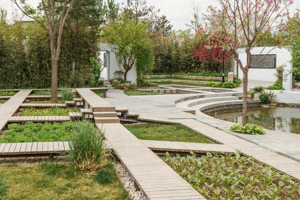 Сад Чандэ, парк-выставка садов, Пекин