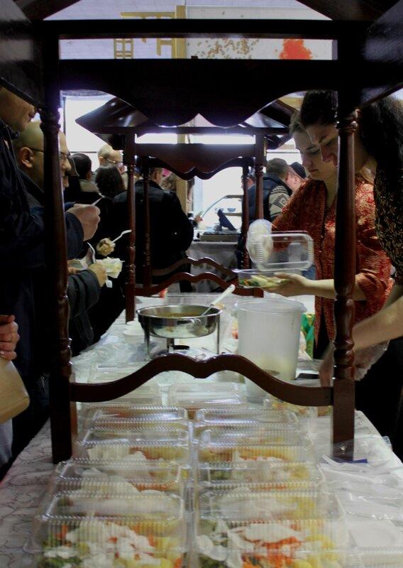 Дегустация блюд азиатской кухни