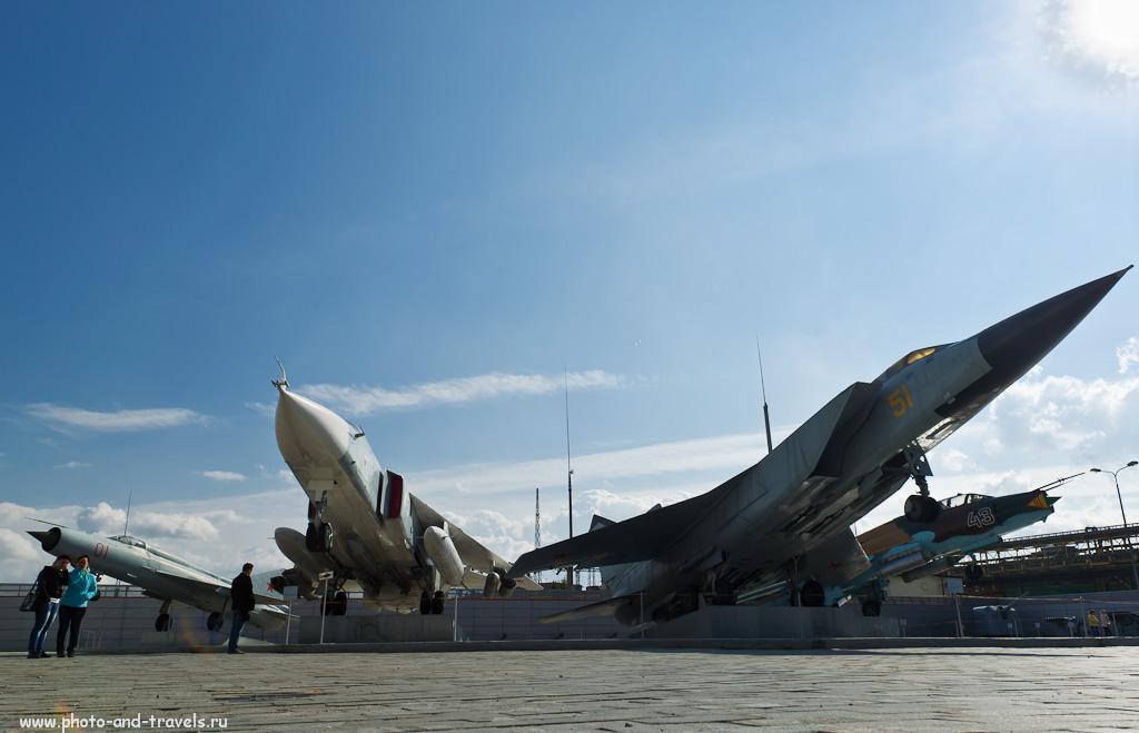 23. Музей под открытым небом в Верхней Пышме. Авиационная корона