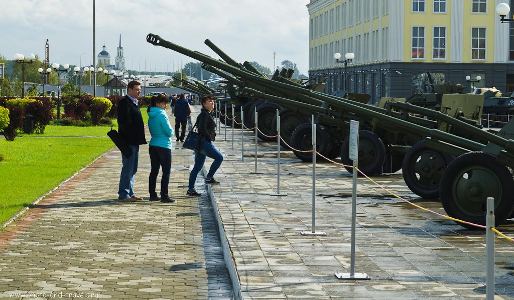 3. Музей техники «Боевая слава Урала» в городе Верхняя Пышма. А пушек здесь, надо сказать, много…