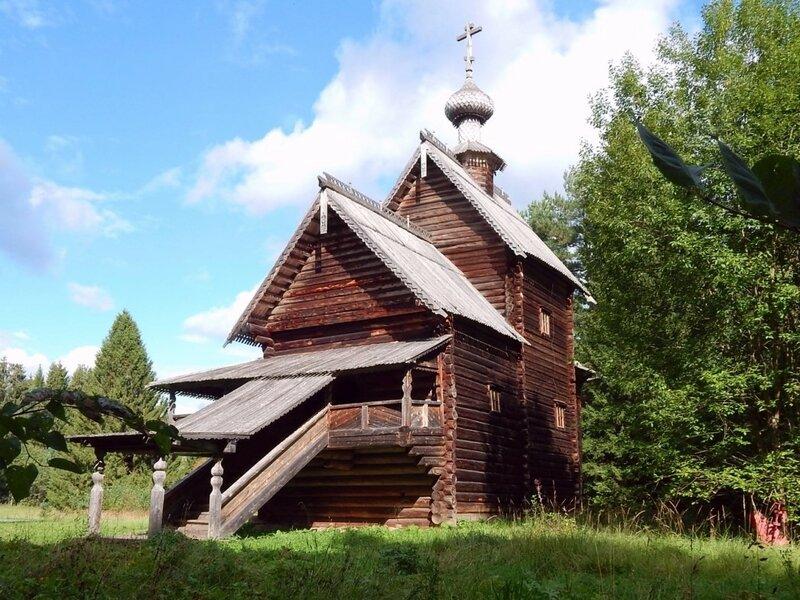 Преображенская  церковь. 1732 г.