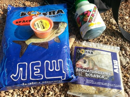 Рыбий жир в прикормке для леща
