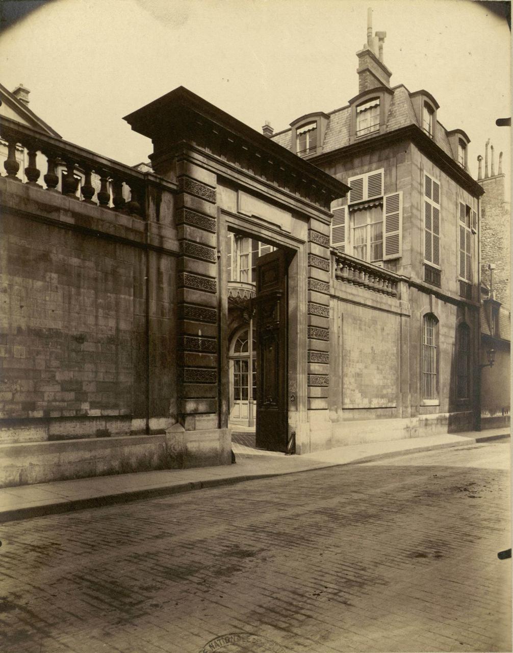 1900. Особняк де Кастри. Улица Варен, 72