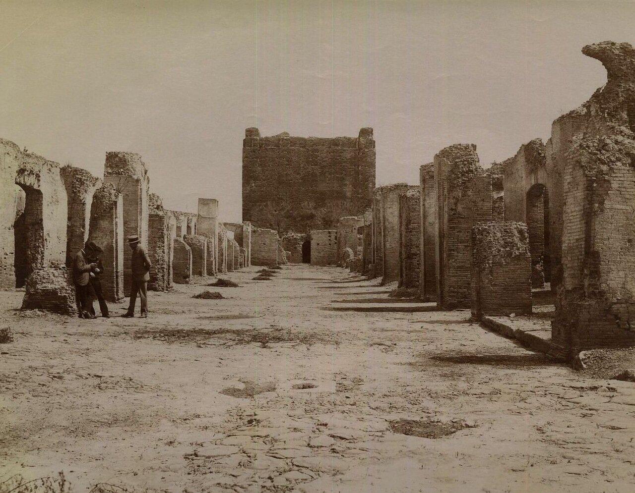 Остия. Храм Вулкана