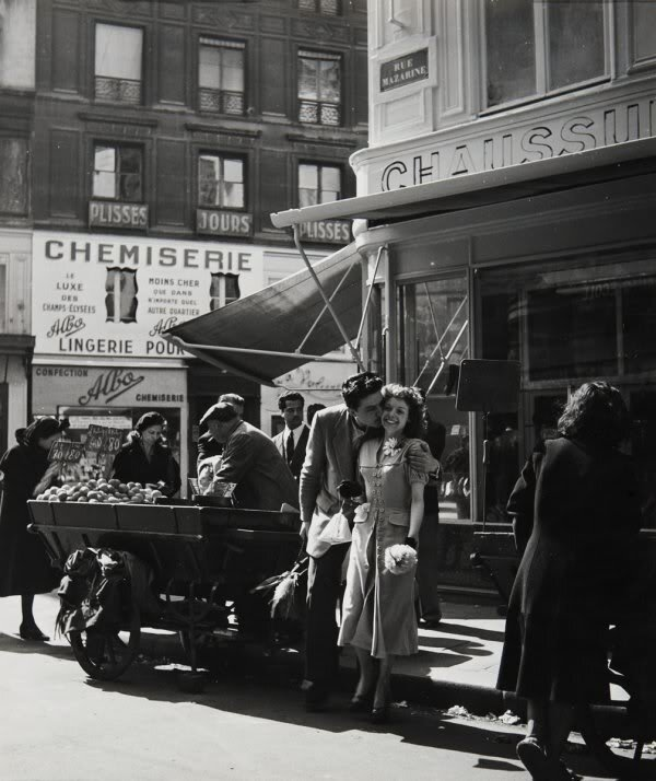 1950. Влюбленные с Оранжа
