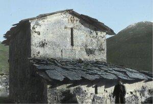 Церковь Богородицы в верхней Сванетии
