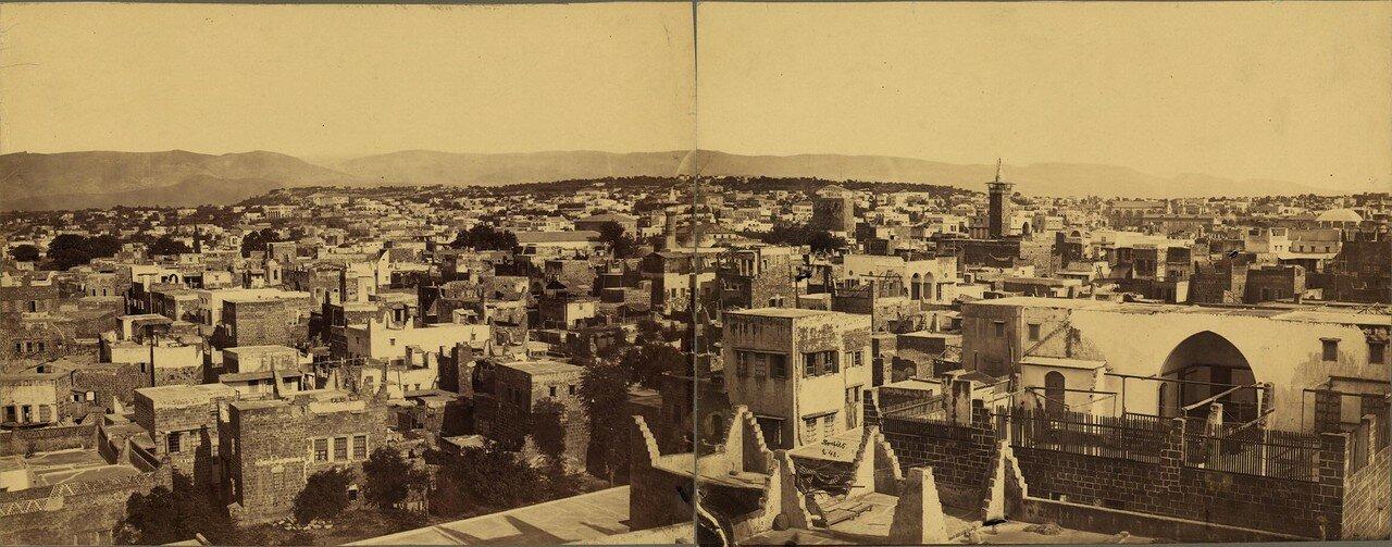 1890-е. Панорама Бейрута