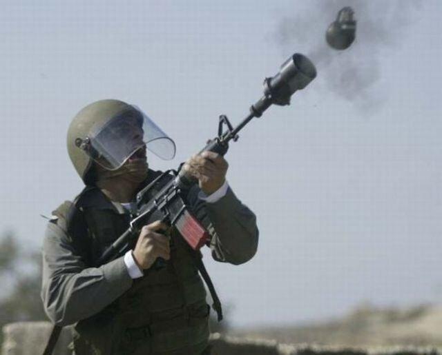 Фотографии выстрелов из различного оружия
