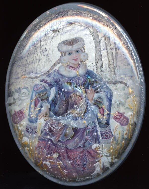 Данилина Юлия. Снежинка