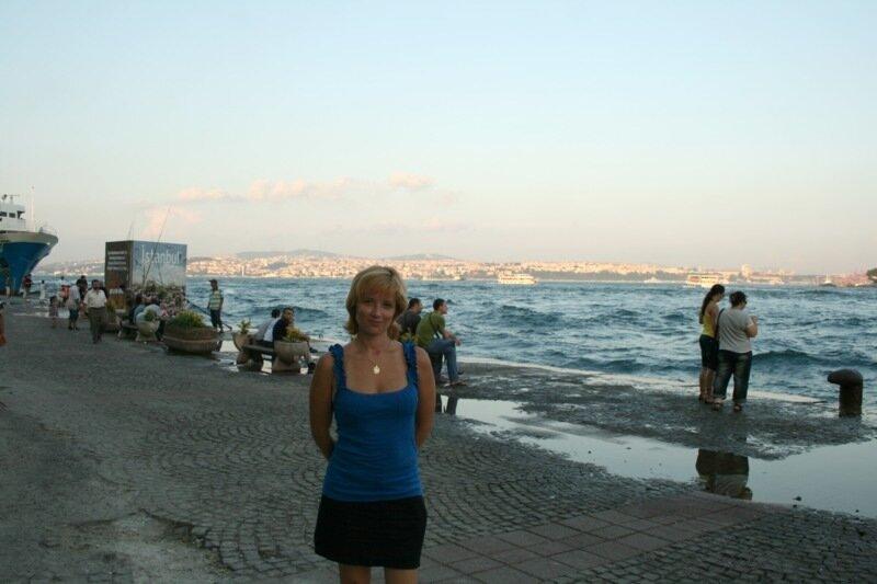Стамбул, набережная Босфора