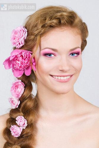 фотомодель портрет модели красота  Бьюти съемка в студии