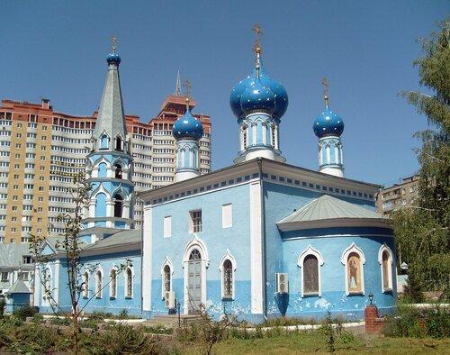 Успенский храм город Воронеж