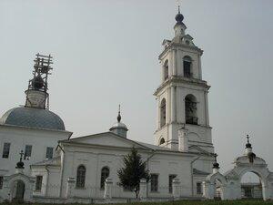 Преображенская церковь в с. Порецкое