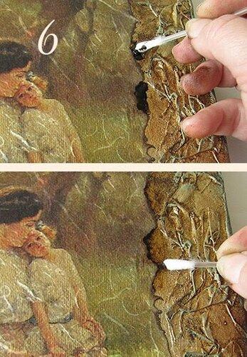 "Картина ""Фотография из чердака"""