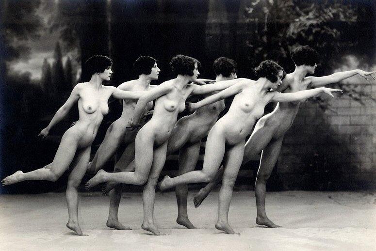 ретро эротика. 1920's Photo by Albert Arthur Allen