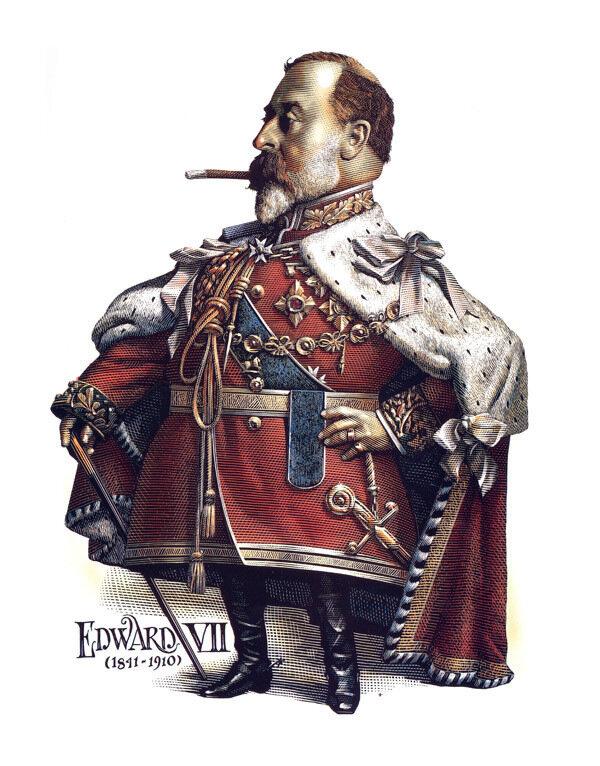 Edward VII.cartoonist MarkSummers.
