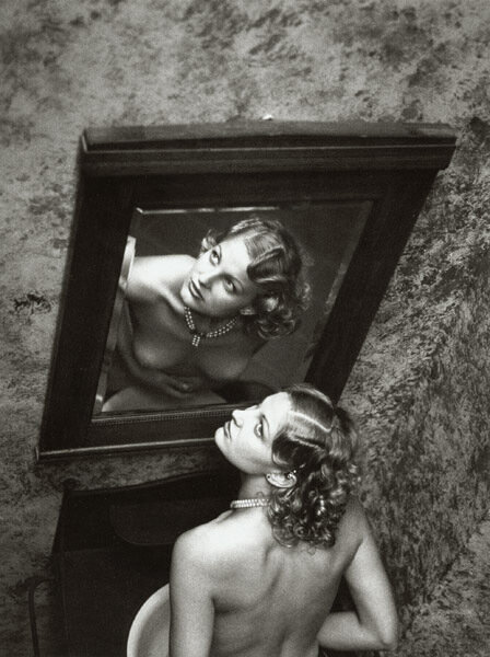 Stanko Abadžic - In Front of the Mirror,$3,500