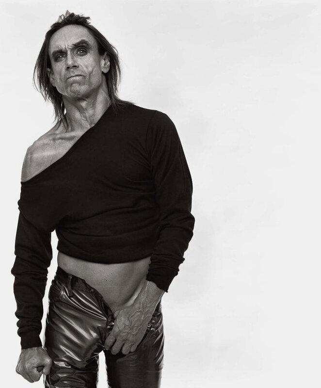 Photographer Michel Comt.Iggy Pop