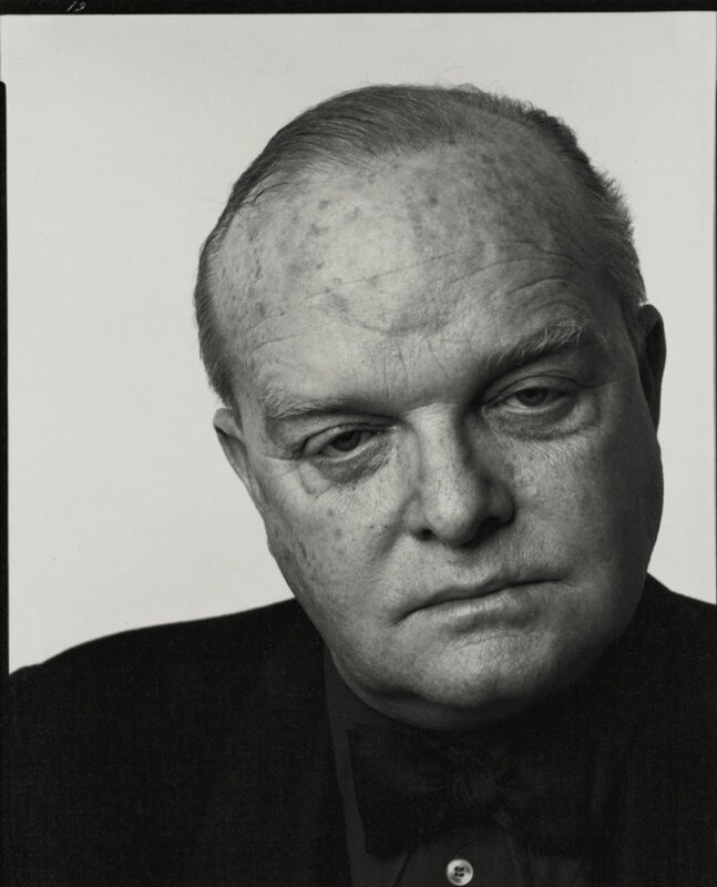 Richard Avedon.Truman Capote, New York City.1974