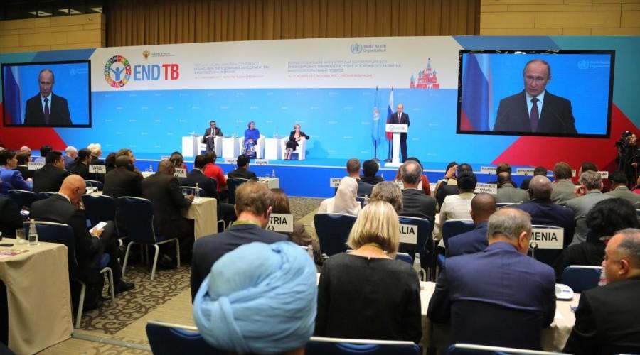 Владимир Путин поддержал планы БРИКС о создании сети по исследованию туберкулеза