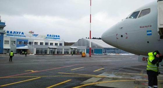 «Россия» провела презентацию самолета, названного в честь Калуги